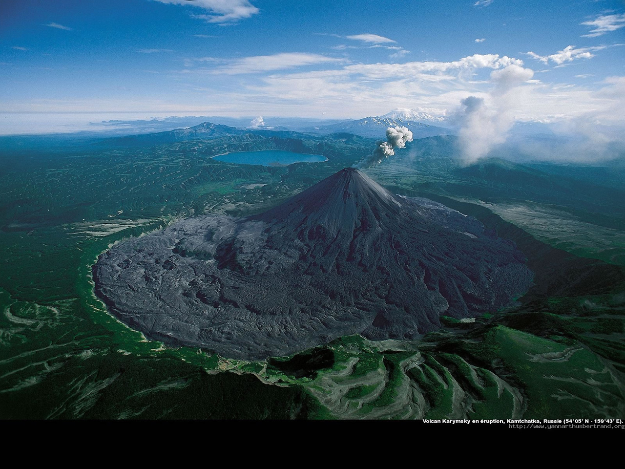 Фото вулкана карымский камчатка