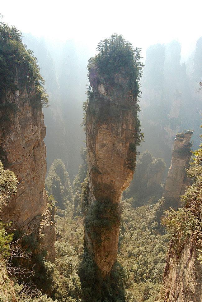 Эти горы находятся в китае и