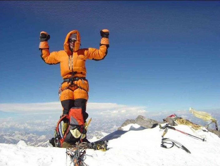 Картинка альпинист