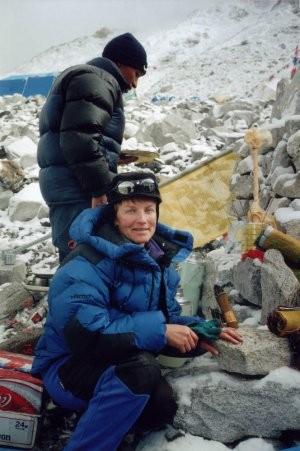 Секс альпинистки